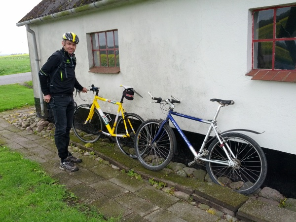 Commute with Jens Peter Hansen to Randers